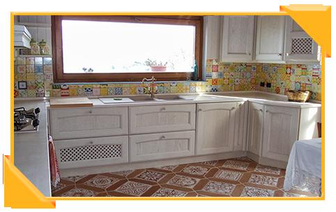 Piastrella da interno da cucina da parete in ceramica il