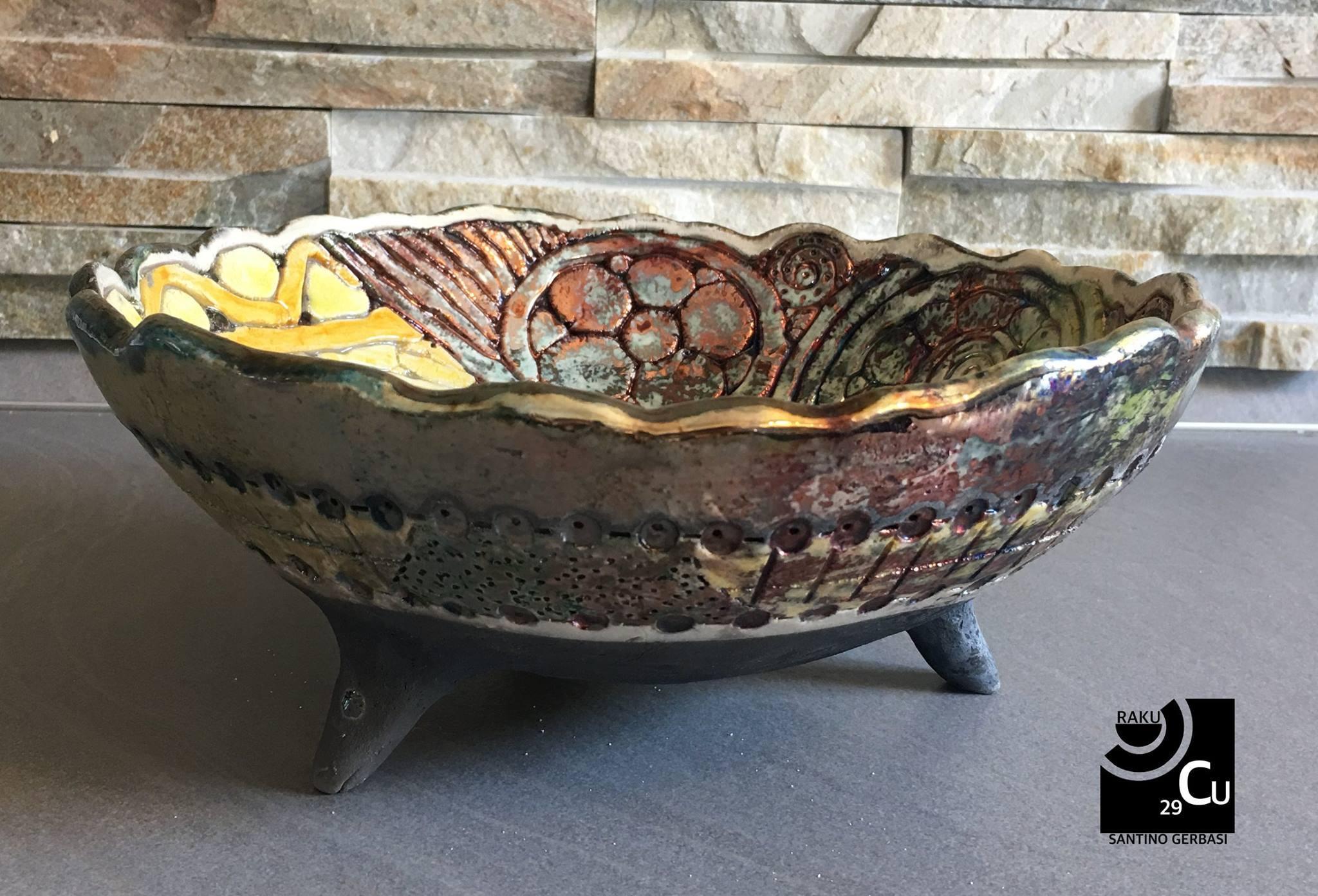Ceramiche Vico Condotti Cosenza Raku 29